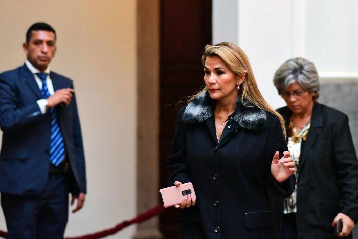 Jeanine Anez. AFP photo