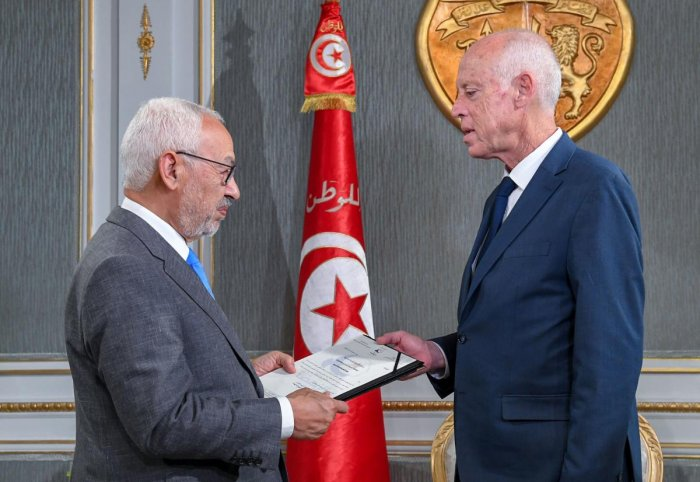 Tunisia's president tasked Habib Jemli on Friday with forming a government. (AFP Photo)