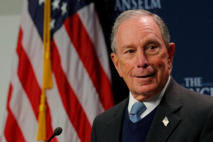 2020 Democratic presidential candidate Michael Bloomberg (Reuters Photo)