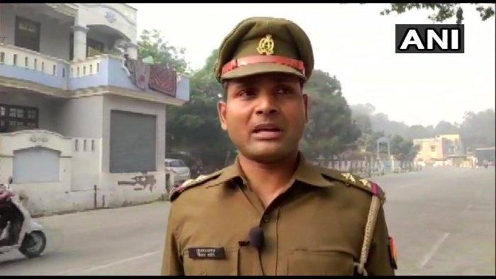 Vijay Pratap. ANI/Twitter