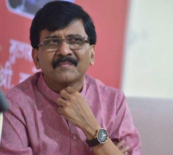 Shiv Sena leader Sanjay Raut. (DH Photo)