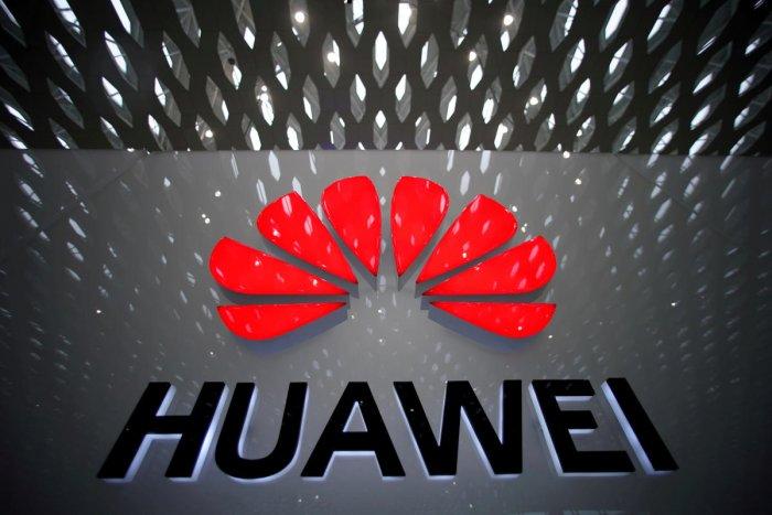 Huawei company logo (Reuters Photo)