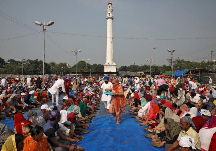 Sikh community (Reuters Photo)