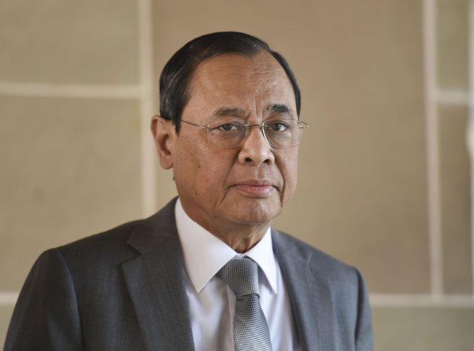 Outgoing Chief Justice of India Justice Ranjan Gogoi. (PTI Photo)