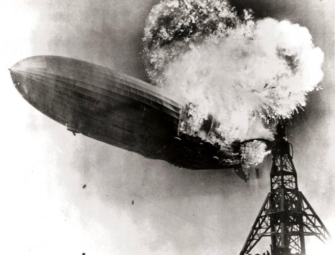 Hindenburg airship disaster (File Image)