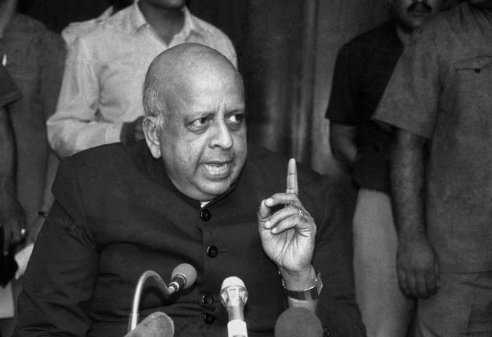 former chief election commissioner TN Seshan (PTI Photo)