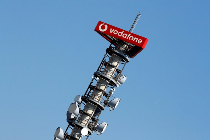 Vodafone in Berlin (Photo by AFP)