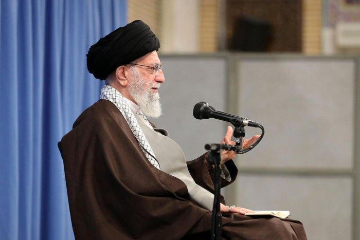 Iran's Supreme Leader Ayatollah Ali Khamenei (AFP Photo)