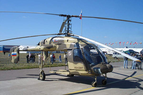 India and Russia signed a deal in 2015 under Indian Prime Minister Narendra Modi's 'Make in India' programme for the supply of 140 KA 226T helicopters with Russia to deliver 40 and the remaining to be assembled and manufactured in India. Photo/Airforce-technology.com