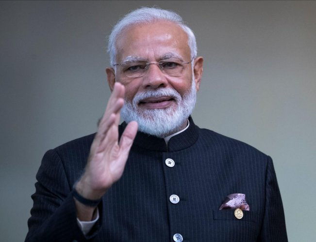 I look forward to working closely with you for deepening the close and fraternal ties between our two countries and citizens, and for peace, prosperity as well as security in our region, tweeted PM Modi.Photo/AFP