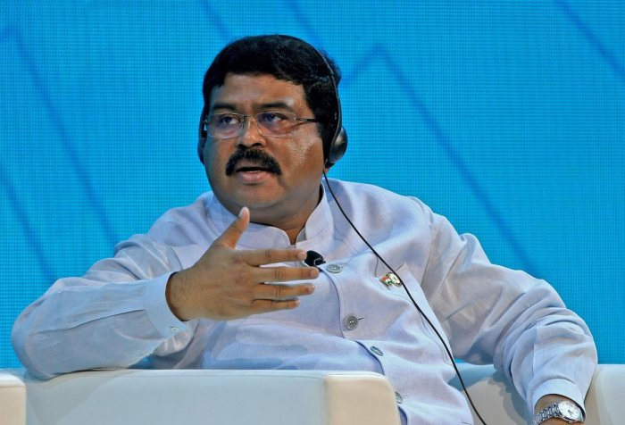 Minister of Oil and Gas Dharmendra Pradhan. (AFP file photo)