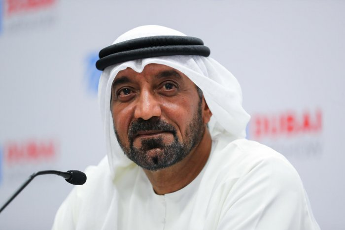 Sheikh Ahmed bin Saeed Al Maktoum, CEO and chairman of the Emirates Group. (Reuters photo)