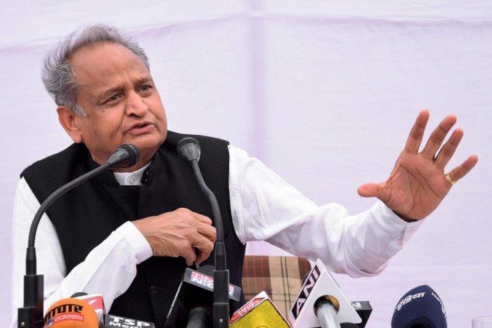Rajasthan Chief Minister Ashok Gehlot. (PTI file Photo)