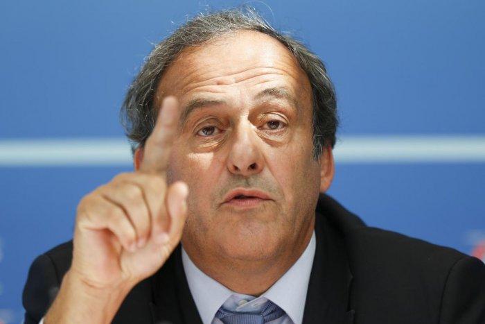 UEFA chief Michel Platini. (AFP Photo)