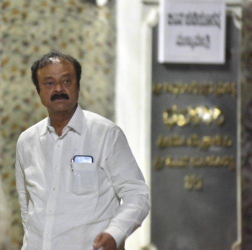 Former MLA Narayana Gowda. (DH photo)