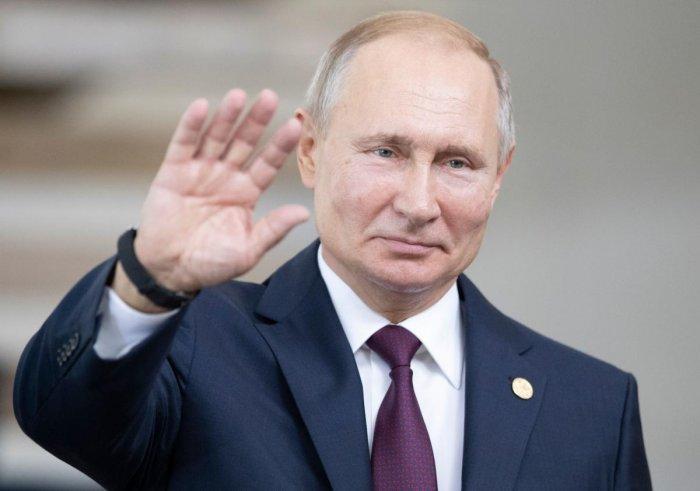 Russia's President Vladimir Putin. (AFP Photo)