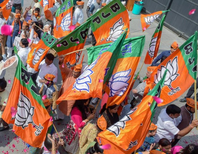 Various BJP-led NDA allies, including newly appointed LJP president Chirag Paswan, desired to have a convener or coordination committee to sort out differences. Photo/PTI
