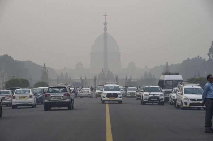 Smog in Delhi (PTI photo)