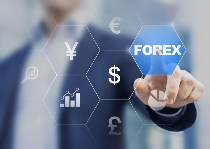 Concept about forex currency exchange on a digital screen. (DH photo)