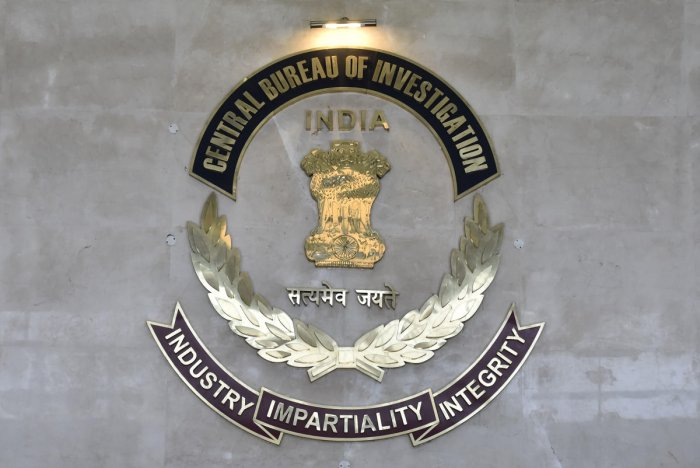 Central Bureau of Investigation (CBI) logo at CBI HQ, in New Delhi. (PTI Photo)