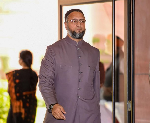All India Majlis-e-Ittehadul Muslimeen (AIMIM) chief Asaduddin Owaisi (PTI Photo)