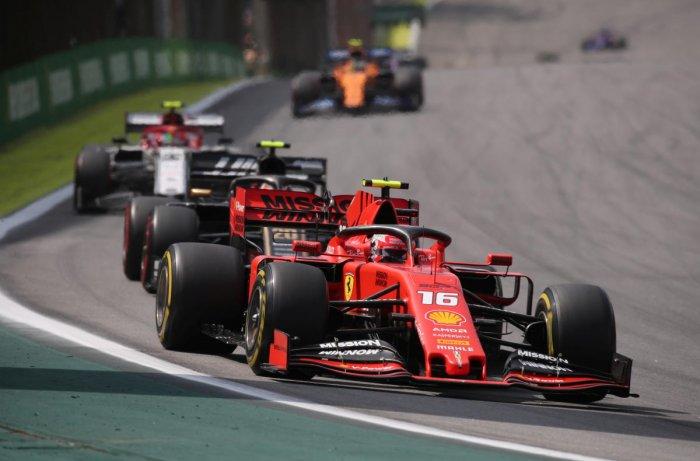 Ferrari team principal Mattia Binotto said he was disappointed. (Photo by Reuters)