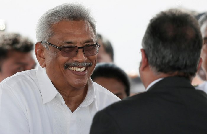 Sri Lanka's President-elect Gotabaya Rajapaksa. (Photo by REUTERS)