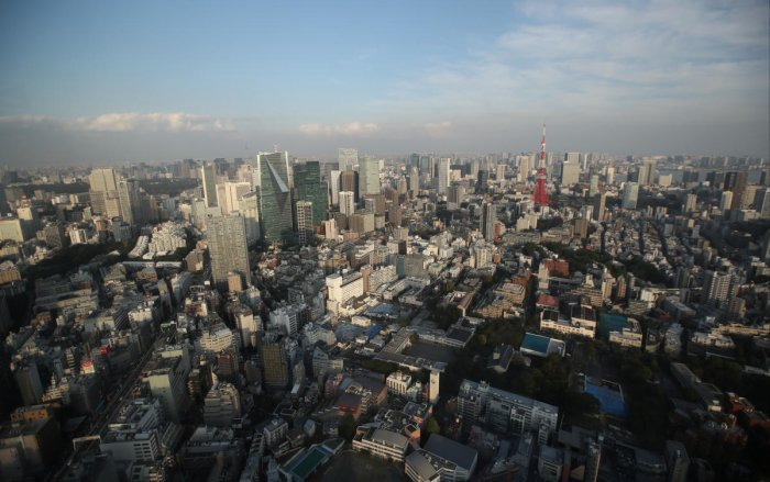 A general view of Japan. (Reuters photo)