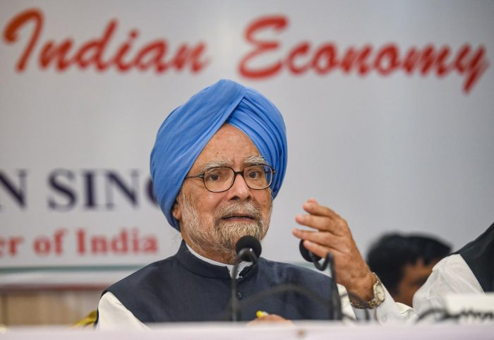 Congress senior leader and former prime minister Manmohan Singh. (PTI file photo)