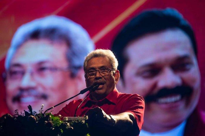 Sri Lanka's newly elected President Gotabaya Rajapaksa. (AFP file photo)