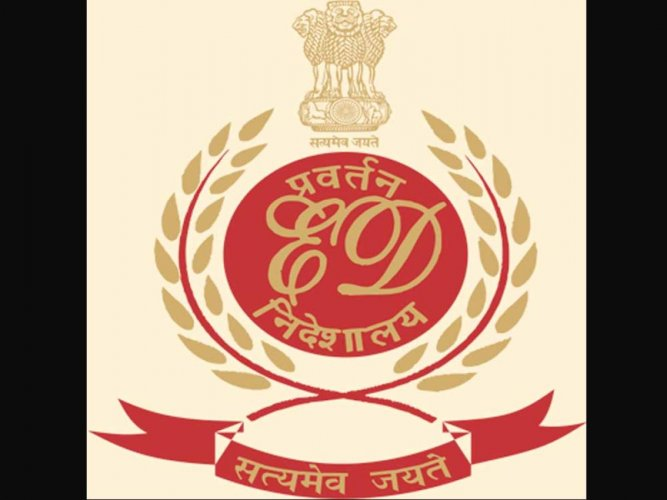 The Logo of Directorate of Enforcement. (DH photo)