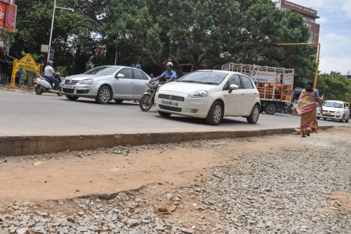 The BJP government appointed the Doddihal panel to probe allegations of corruption in white-topping roadworks. DH FILE PHOTO