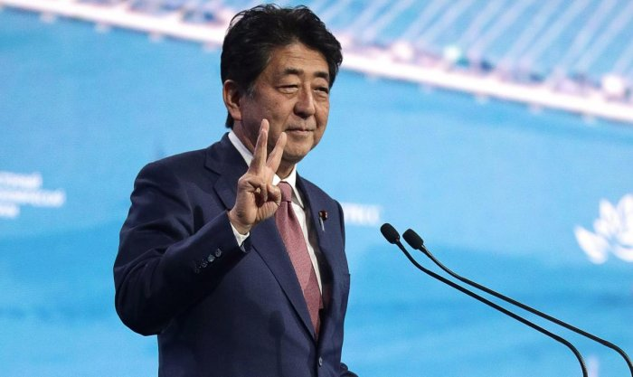 Japan's Prime Minister Shinzo Abe (Photo by AFP)