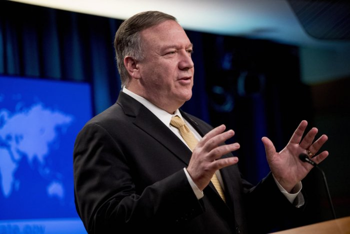 """""""The right amount of uranium enrichment for the world's largest state sponsor of terror is zero,"""" said Secretary of State Mike Pompeo. ( PTI Photo)"""