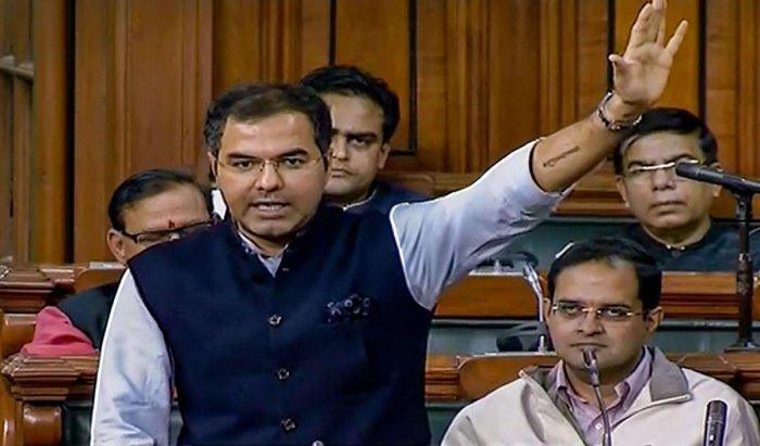 BJP MP Parvesh Sahib Singh Verma. (Photo by PTI)