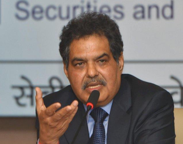 SEBI chairman Ajay Tyagi. (PTI file photo)