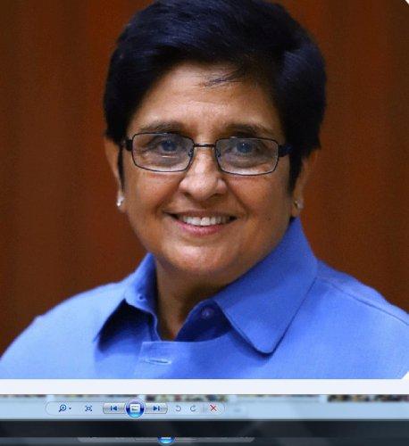 Kiran Bedi. (DH Photo)