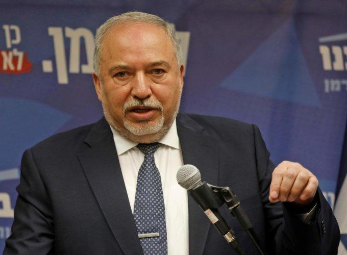 Yisrael Beitenu's party head Avigdor Lieberman. (AFP file photo)