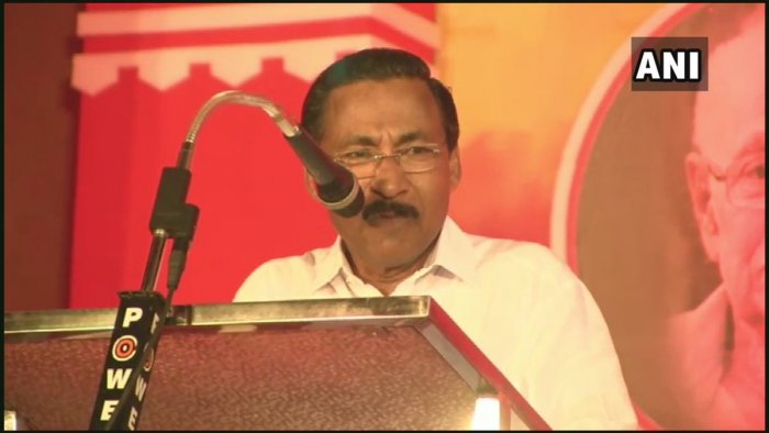 Mohanan said that it was a known fact that the PFI and NDF were involved in extremist activities. ANI/Twitter photo