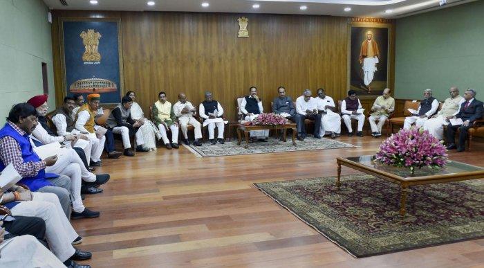 Rajya Sabha Meeting. Representative Image. (PTI Photo)