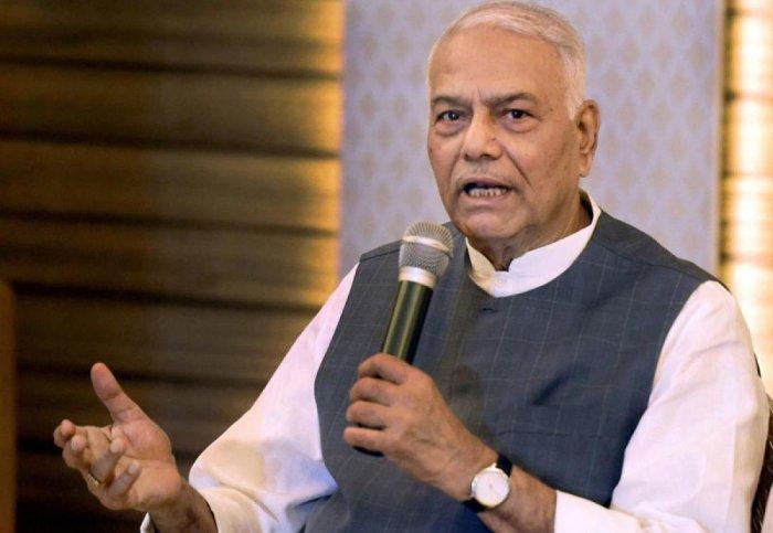 Yashwant Sinha. (File Photo)