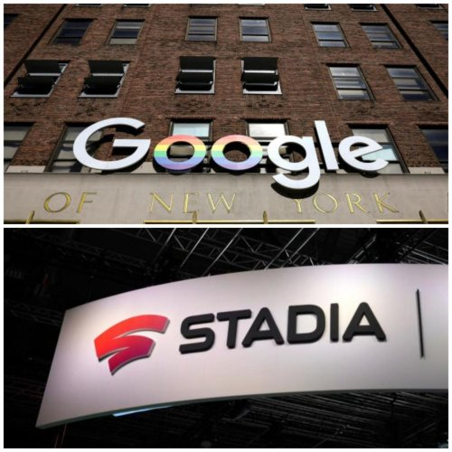 Google enters gaming with cloud-based streaming service Stadia. (AFP and Reuters photo)
