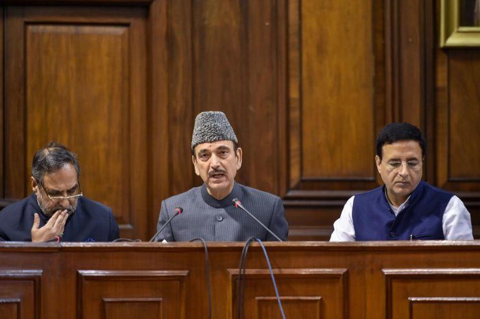 Addressing a press conference here, Azad, along with party colleagues Randeep Singh Surjewala and Anand Sharma, said under the electoral bonds scheme, the donor buying the bonds could hide his identity and at the same time, a political party needed to sha