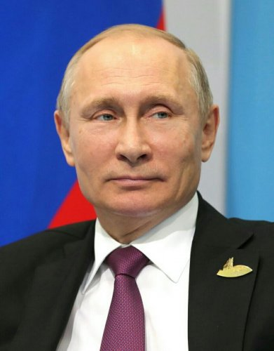 Vladimir Putin. (Photo by Wikipedia)