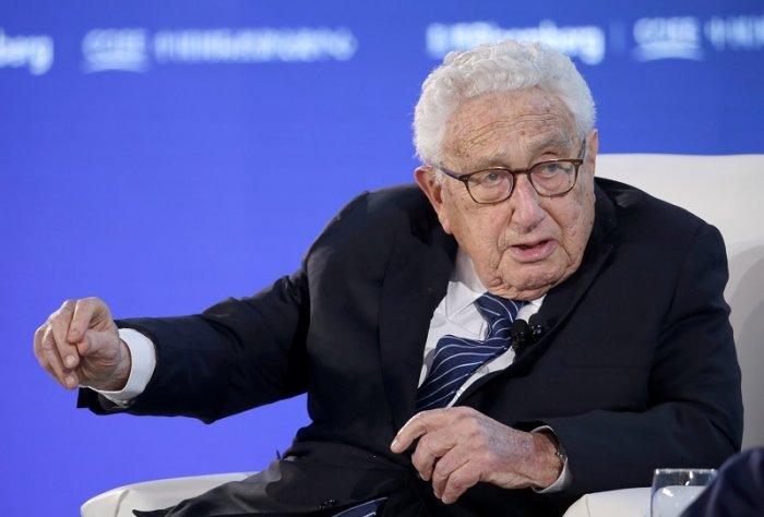 Former US secretary of state Henry Kissinger. (Reuters Photo)