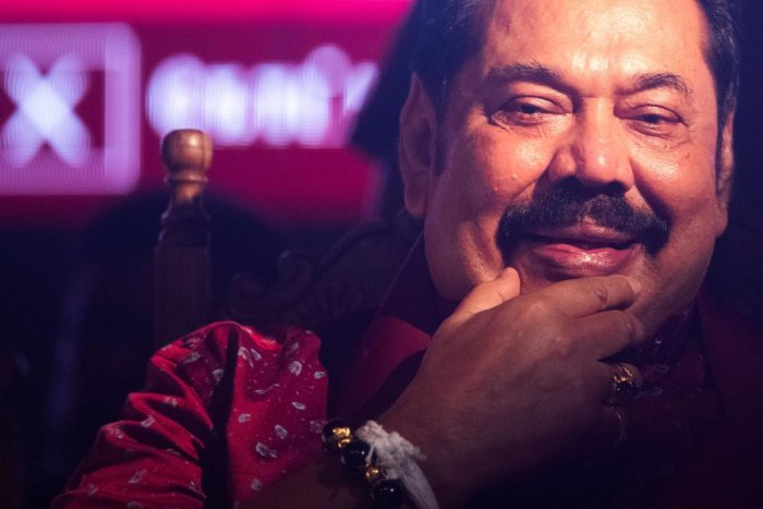 Rajapaksa, the elder brother of the newly elected President Gotabhaya Rajapaksa, will function as the prime minister of the caretaker cabinet until the general election in August 2020. (AFP photo)