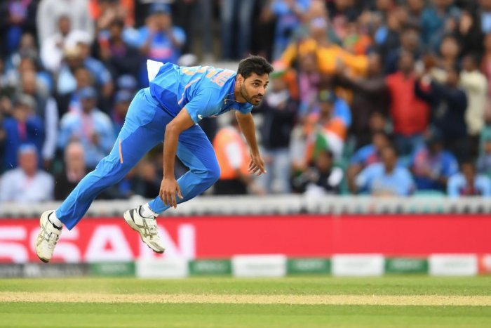 Pacer Bhuvneshwar has been nursing a hamstring and sides train since the team's tour of the West Indies in August. AFP file photo