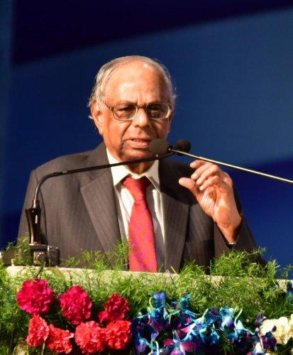 C Rangarajan. DH/B H Shivakumar