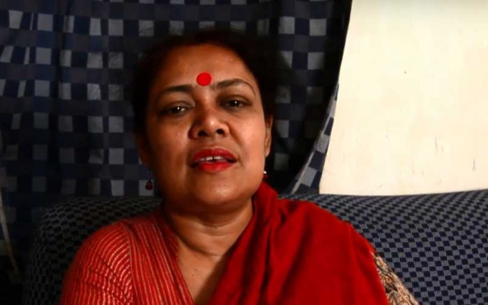 AIDWA state secretary Kaninika Basu Ghosh