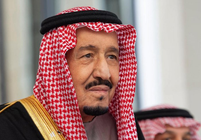 """""""The kingdom has suffered from the policies and practises of the Iranian regime and its proxies,"""" King Salman said, quoted by the foreign ministry, reiterating that Riyadh does not seek war but is """"ready to defend its people"""". (AFP photo)"""
